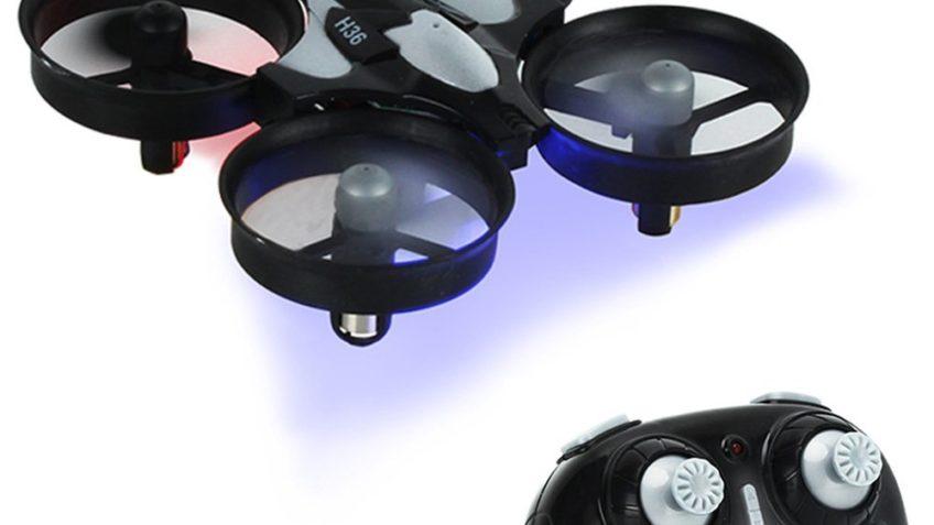 Drone JJRC H36 4 canales 2 años de garantía en España