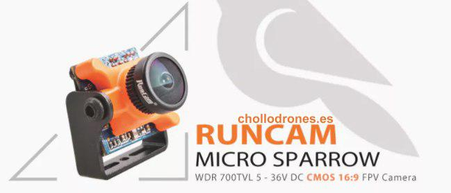Cámara FPV RUNCAM Micro SPARROW 16:9
