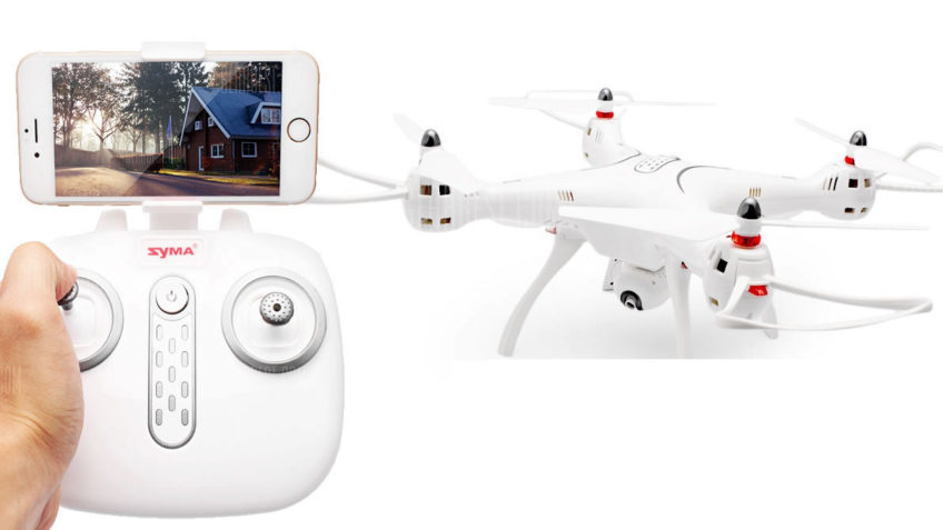 SYMA X8 Pro GPS Brushed RC Quadcopter – RTF