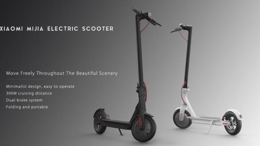 PATINETE MIJIA Xiaomi Scooter 365 desde Europa