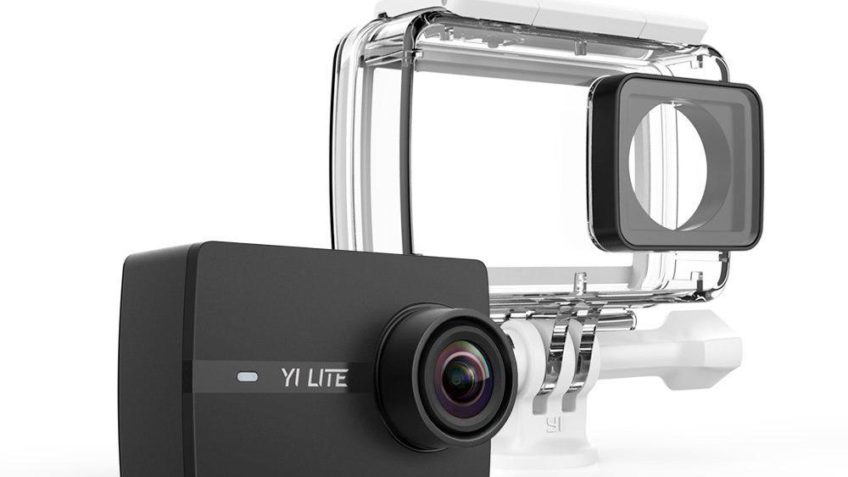 Yi Lite 4K + carcasa (Desde AMAZON)