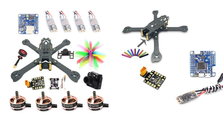 Kit dron de carreras muy completo