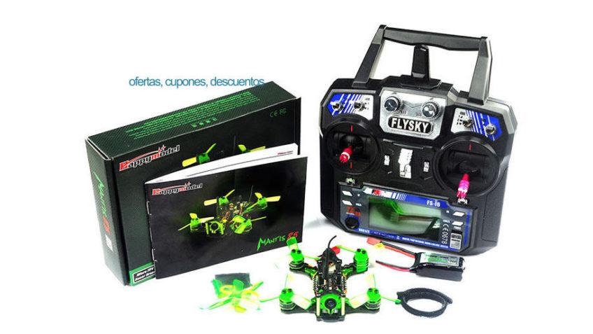 MiniRacer Mantis RTF + Emisora Flysky
