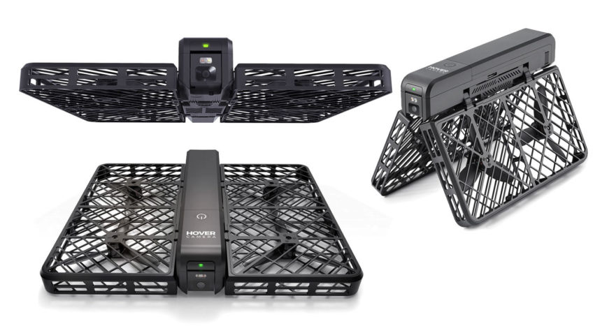 Hover Camera – Drone Selfie 4k plegable de fibra de carbono