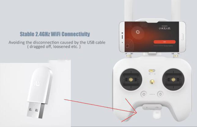Conector Xiaomi Drone WiFi