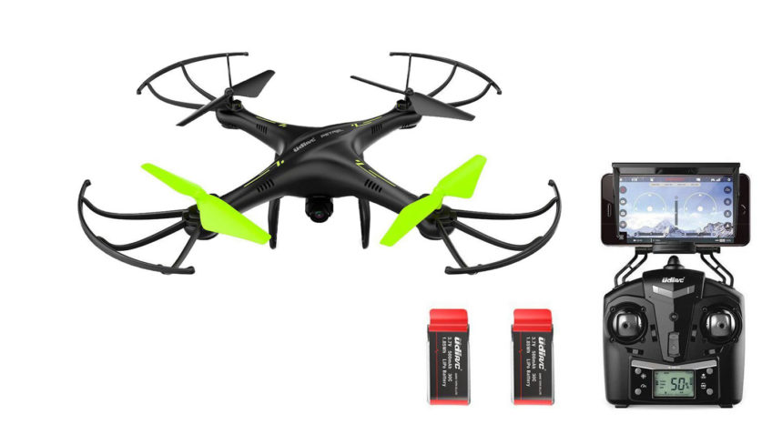 Potensic U42W – Drone con cámara HD + Control remoto + 2 baterías
