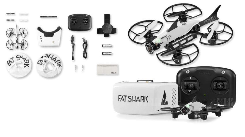 Dron de carreras de Fatshark