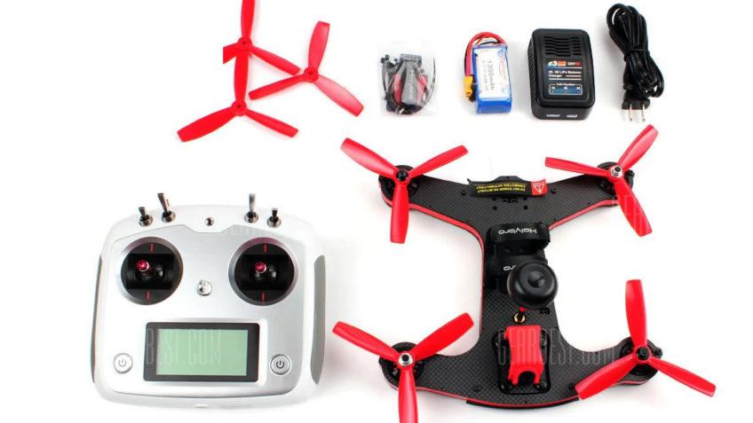 Drone Racer Holybro shuriken 250 + Emisora Flysky