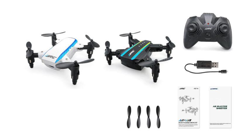 JJRC H345 JJI x JJII Mini Drone Plegable (2 drones)