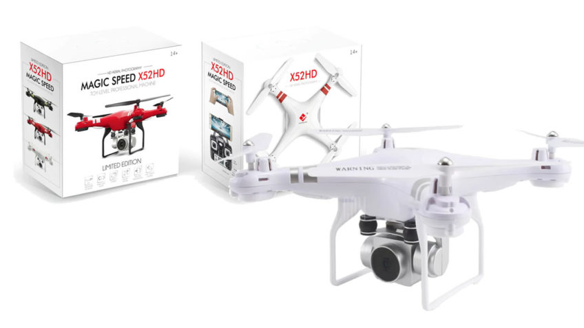 SH5HD RC Drone con cámara de 2.0MP HD FPV
