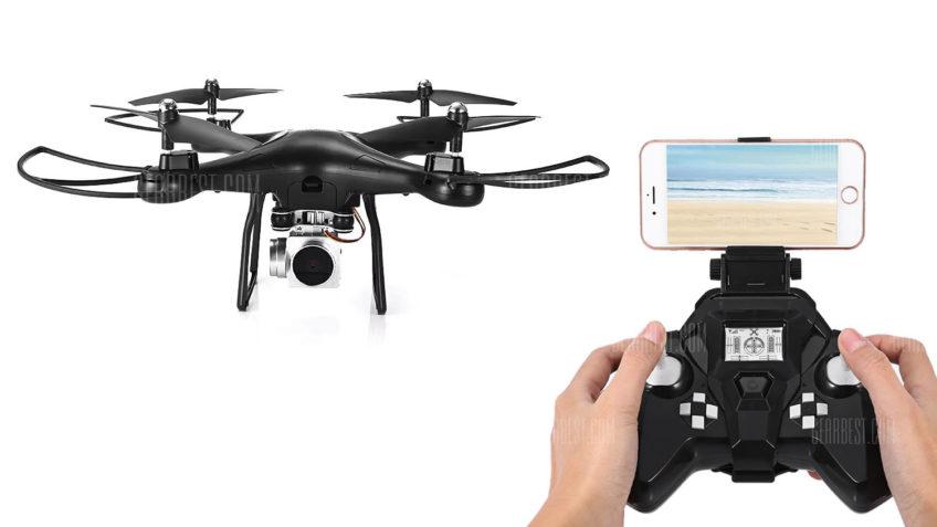 S10 WiFi Drone Drone con FPV + Control remoto