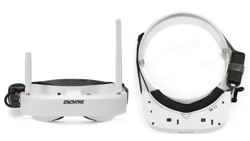 Gafas FPV Eachine EV100 5.8GHz 72 canales