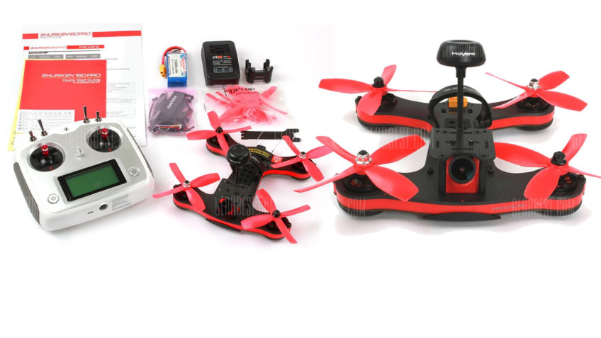 Drone Racer Holybro shuriken 180 + Emisora Flysky