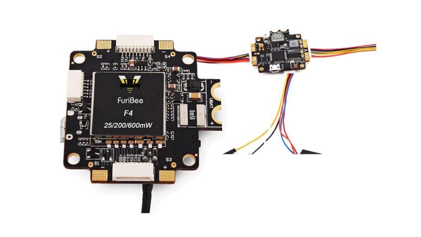 FURIBEE F4 V5 Controladora + Transmisor FPV