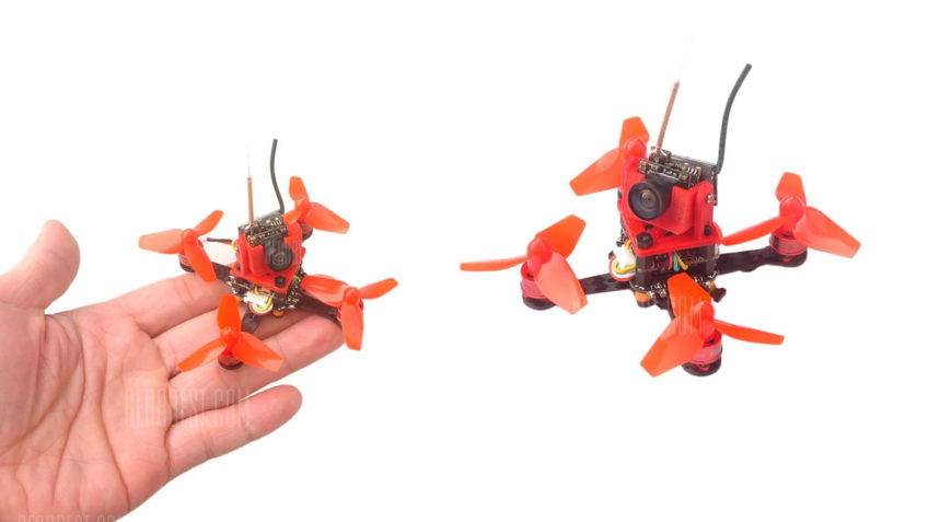 Drone Micro Brushless DIY CUTE66 con FRSKY
