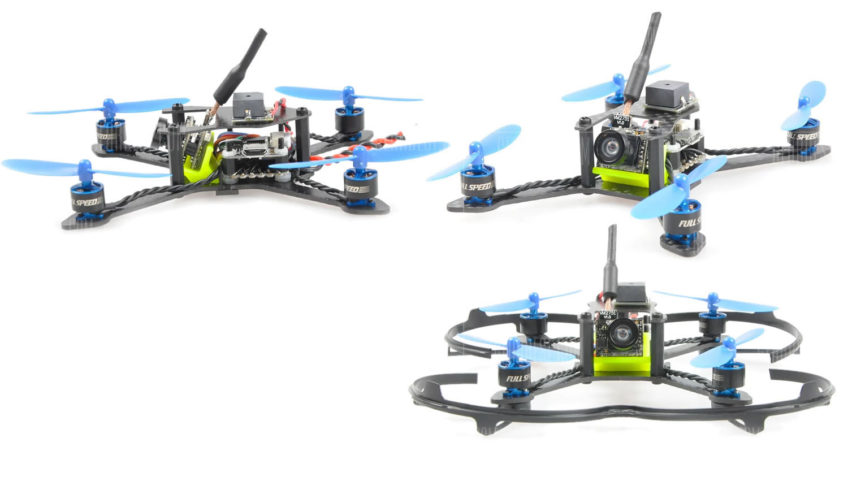 BAT – 100 100mm Mini FPV Micro drone brushless – PNP