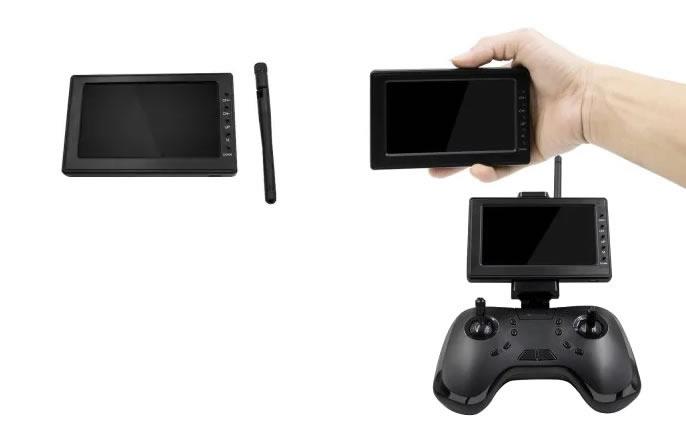Monitor de 4.3″ con receptor FPV 5.8G 40ch