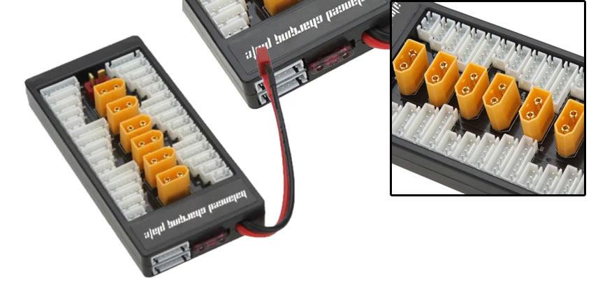 Multicargador en paralelo de baterías Lipo 2S – 6S