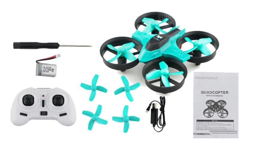 FuriBee F36 Mini Drone RTF CYAN