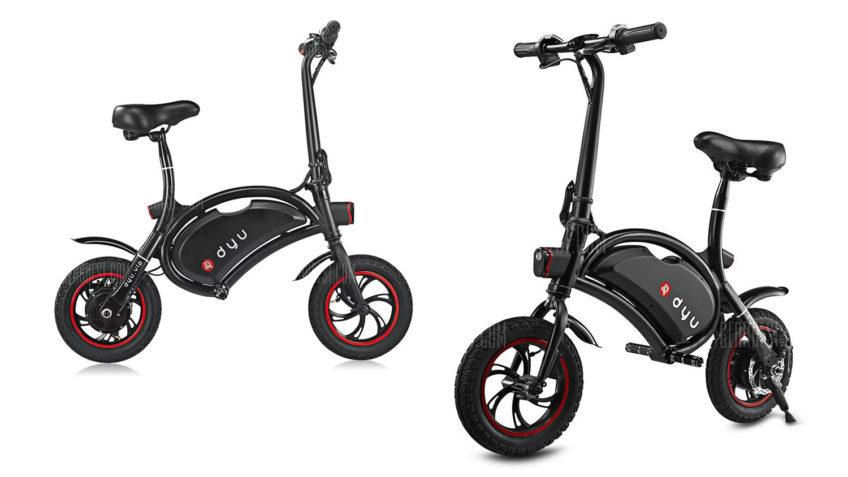 Bicicleta eléctrica F-Wheel DYU desde España