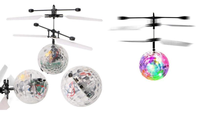 Bola de colores voladora