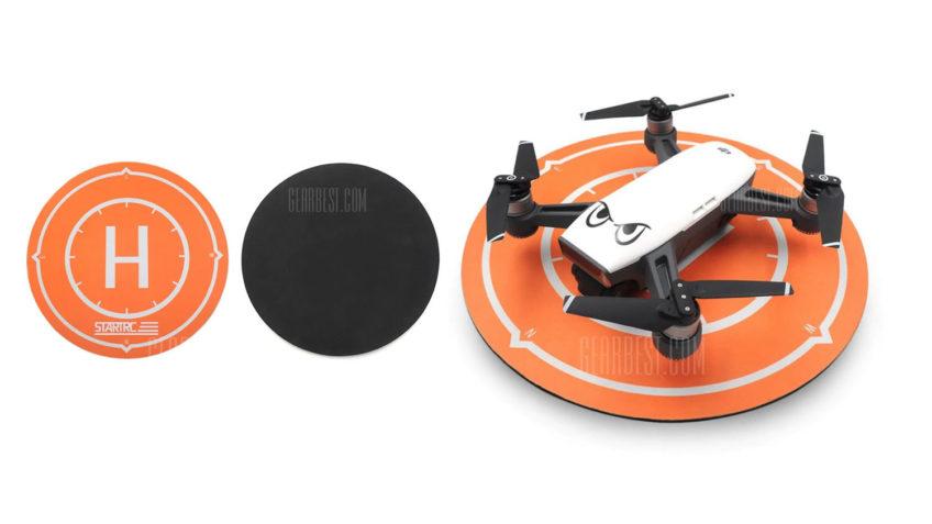 Plataforma de despeque para drones de carreras