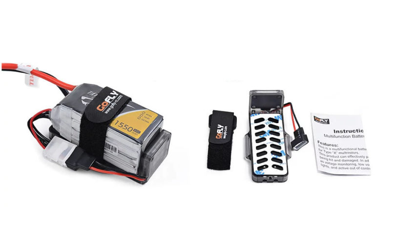 Protector batería lipo