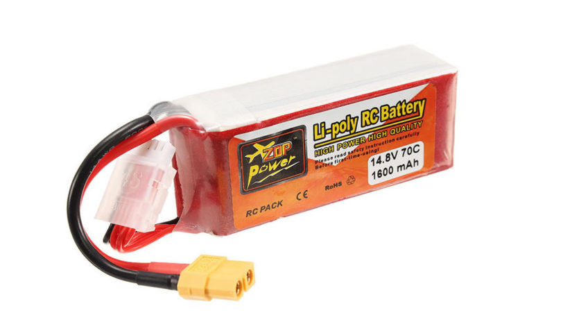 Batería Zop Power 4s 1600mAh  – 70C