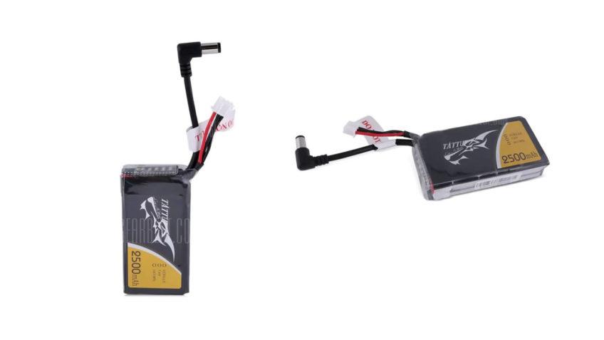 Baterías tattu 2500mAh 7.4V 2S para gafas FPV