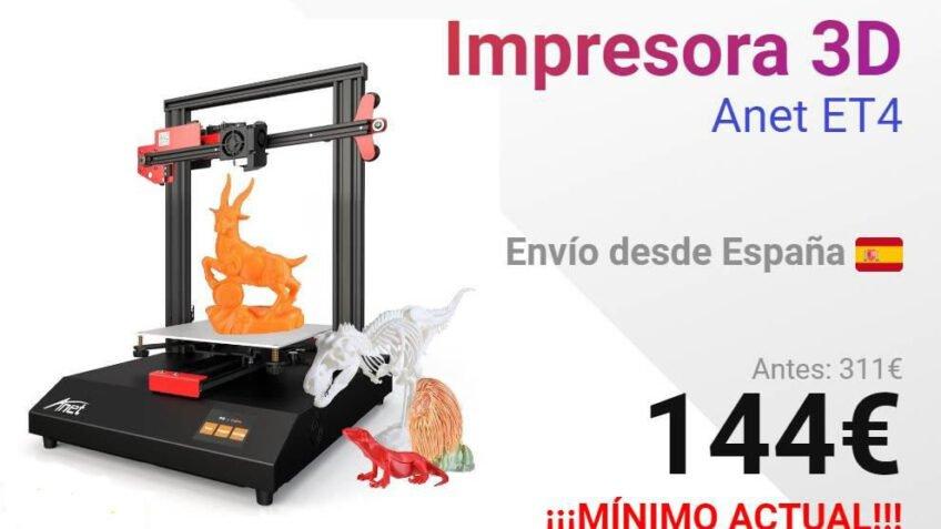 Impresora 3D Anet ET4  envío desde España
